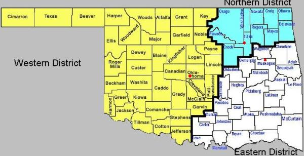 Service Area Western District of Oklahoma United