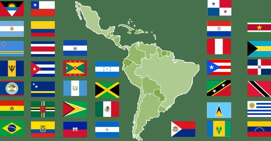 Latinoamérica y el Caribe, Estados miembros de la OLACT