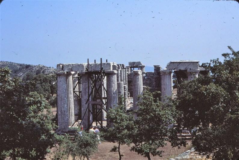 Temple de Bassaé, Péloponnèse
