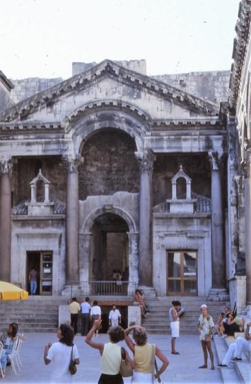Split, palais Dioclésien