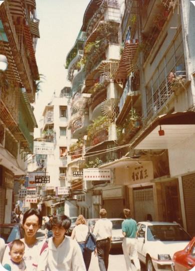 Une rue de Macao