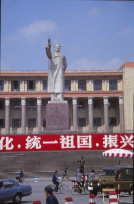 Statue de Mao