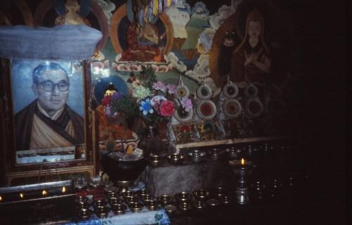 Dans un des nombreux monastère