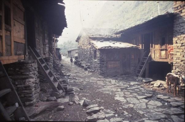 chine 183 Népal dernier village, dernier jour