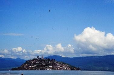 Patzcuaro, isla Janitzo