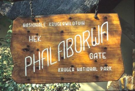 RSA 026 Kruger parc