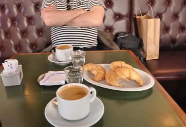 Cafe y media luna