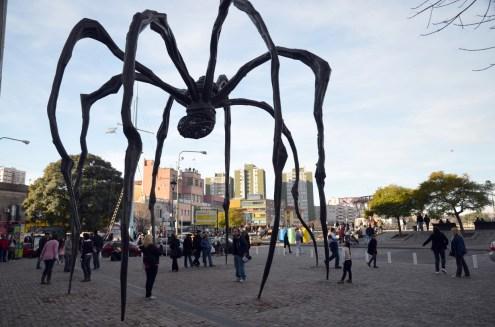 La Boca : araignée de Louise Bourgeois