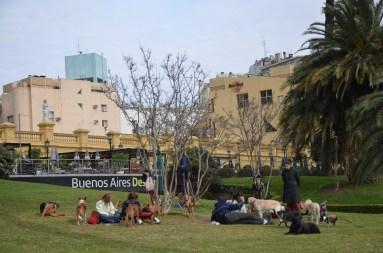 Quartier haussmanien de La Recoleta