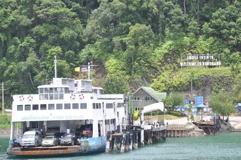 ferry vers Ko Chang