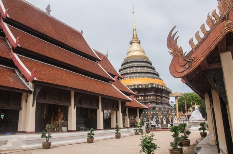 Un des plus beaux temple de Thaïlande