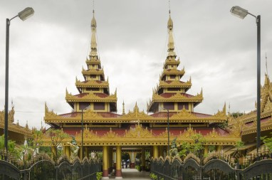 Pagode près de Mandalay Hill