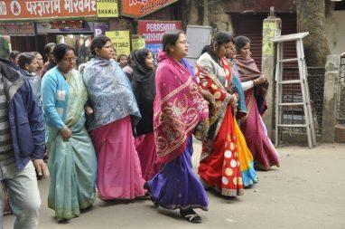 indiennes dans leurs plus beaux habits
