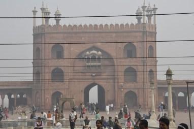 porche de la mosquée