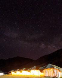 Nuit étoilée, Sarchu camp