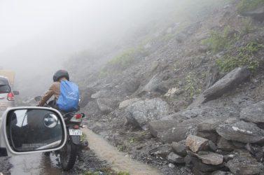 Chute de pierre, Rohtang La