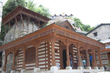 Temple indou à Vashisht