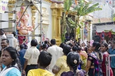 Cérémonie dans un temple