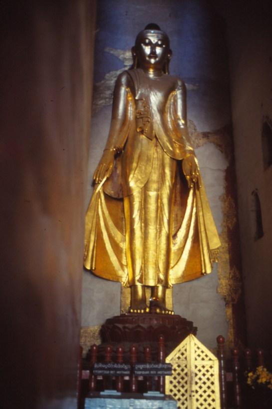 Intérieur d'une pagode
