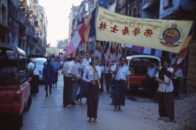 procession ? à Rangoon