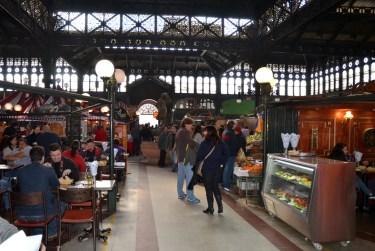 Intérieur du mercado central