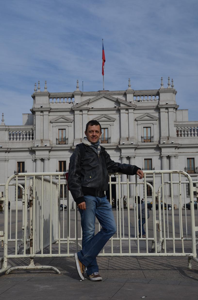 La Moneda, bombardée lors du coup d'état de 73