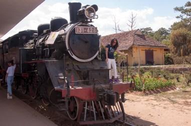 L'ancienne locomotive