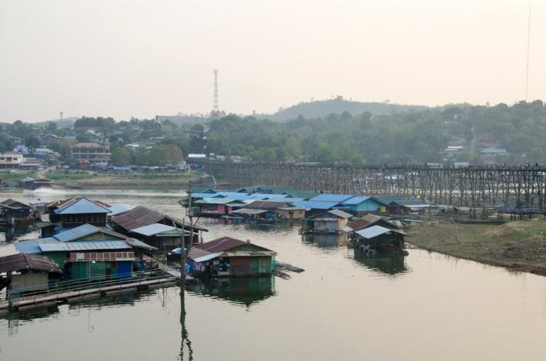 Maisons flottantes , Khao Laem