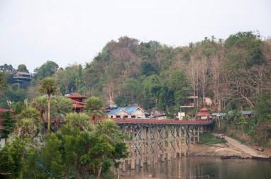 Le fameux pont de Sangkhlaburi