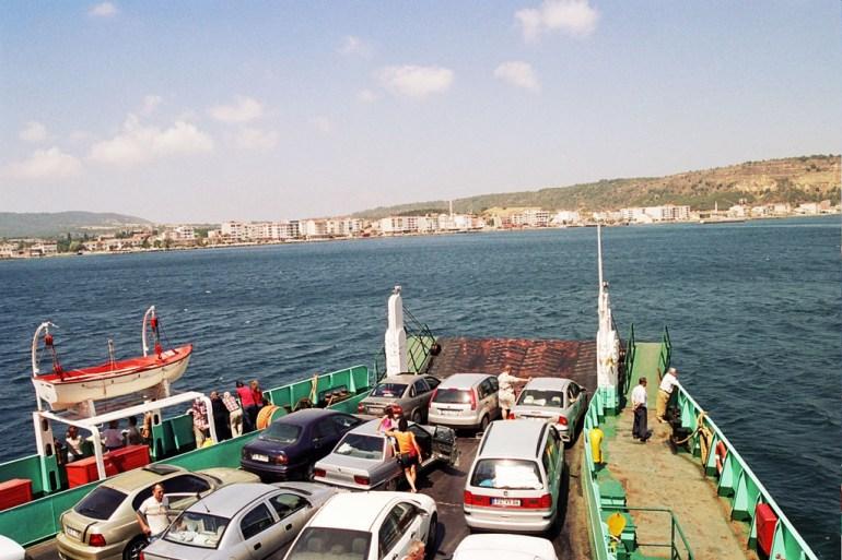 Traversée des Dardanelles