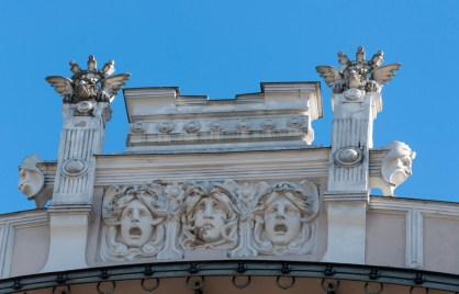 Bâtiment Art Nouveau