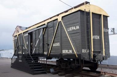 wagon de déporté