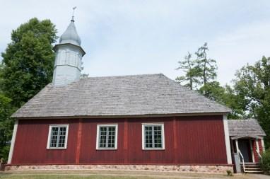 Eglise dans le Parc du château