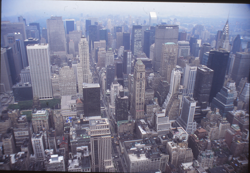 vue de l'Empire State Bldg