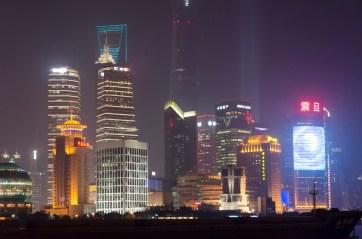 Pudong la nuit
