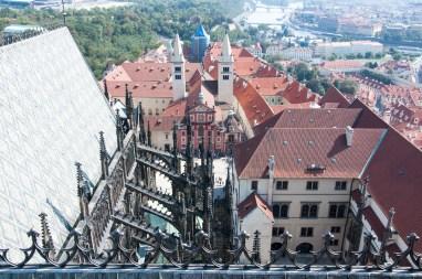 vue de la tour de la cathédral