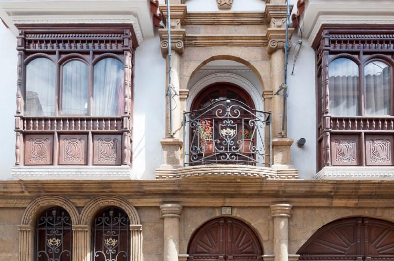 Les superbes balcons de Potosi