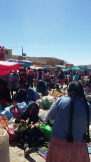 Bol 2825 marché de Tarabuco