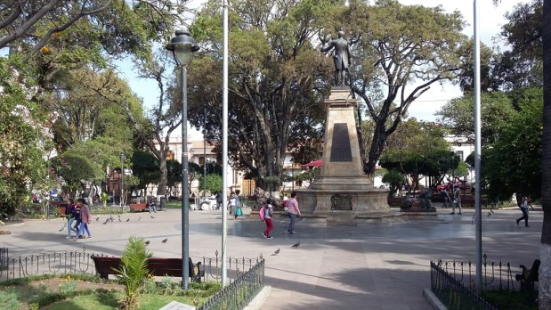 Sucre place centrale