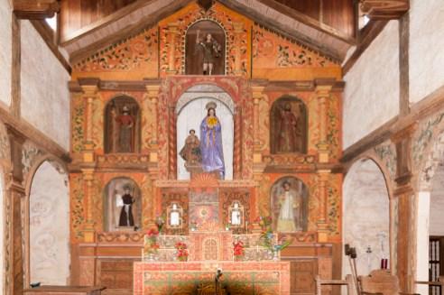 Retable de l'église de Santa Ana