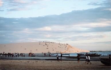 Jeri : la dune pour le coucher de soleil