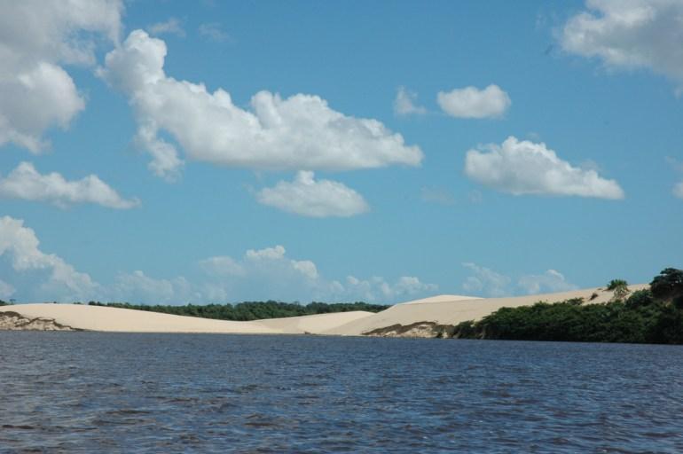 rio Preguiças : les rives
