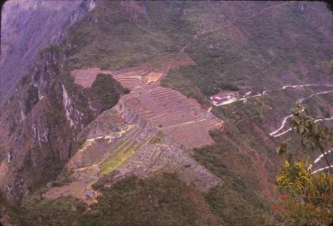 Vue depuis le Huayna pichu