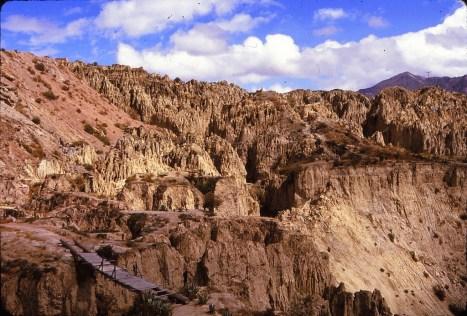 Environs de La Paz : valle de la luna