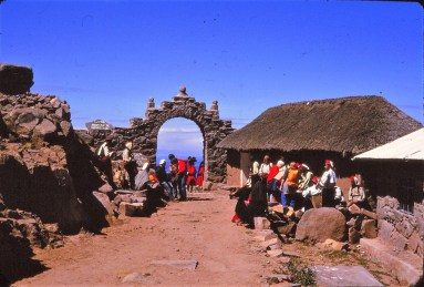 Titicaca : ile Taquille