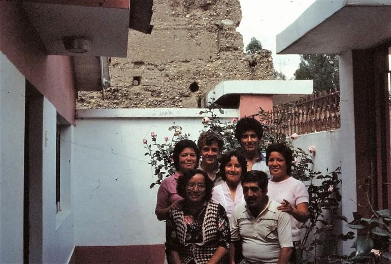Amis péruviens, quelque part dans l'Altiplano