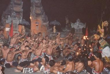 Yogyakarta Danse du singe