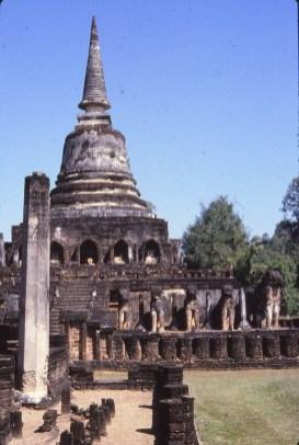 temple des elephants (Si Satchanalai)