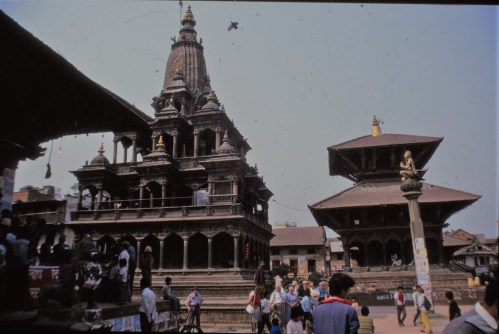 Temple Krishna, Patan