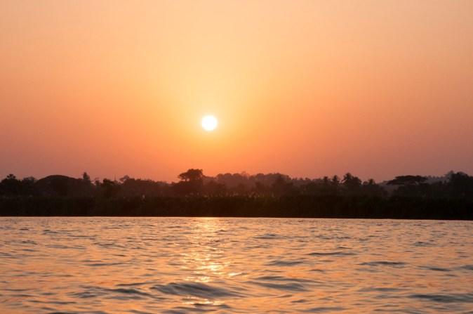 coucher de soleil (Hpa-An)